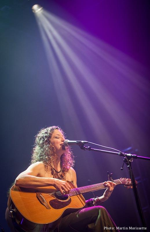 Geneviève Labbé en spectacle